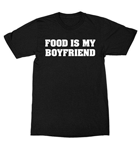 Food is My Boyfriend Shirt TUMBLR - Boyfriend My Black Tumblr