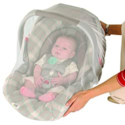 Nuby Mosquito Net for Baby Strollers and Carriers