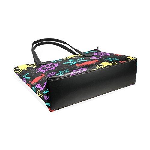 Donna Tizorax Per Borsa A Tracolla Multicolore La 6qRp7w6
