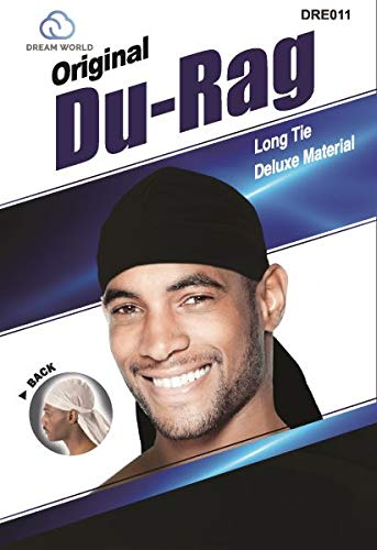 - Dream Du-Rag Black (Pack of 12)