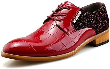 古典的なメンズ高品質本革オックスフォードは靴をひもで締めます 快適な男性のために設計
