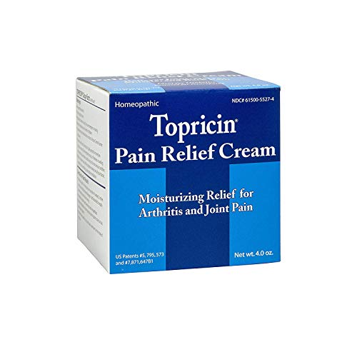 Topricin - Moisturizing cream relief for arthritis and joint pain, 4 oz ( Pack of 10)