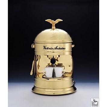 Cafetera expreso Venus Family Brass (latón) by Victoria Arduino: Amazon.es: Hogar