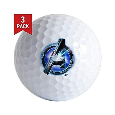 CafePress Avengers Endgame Logo Golf Balls (3-Pack), Unique Printed Golf Balls
