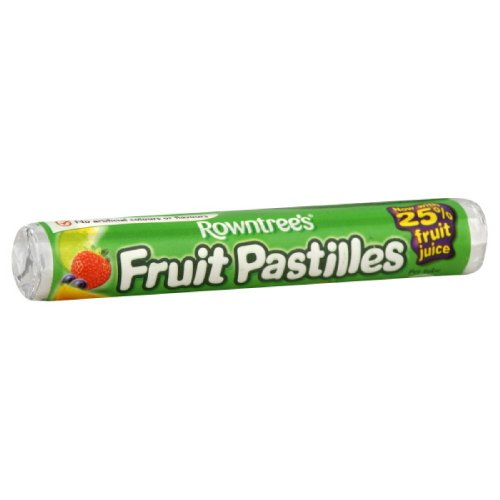 Rowntree's Fruit Pastilles Roll, 1.8-Ounce (Pack of 12) (English Fruit)