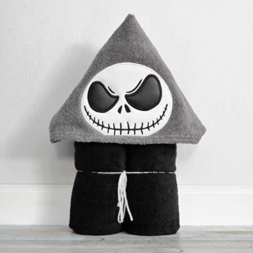 Skeleton Man Hooded Bath Towel - Baby, Child, Tween