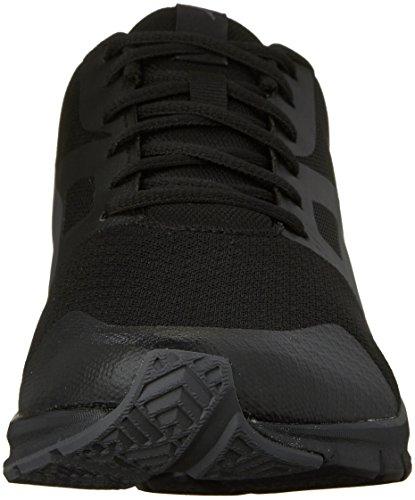 Sneaker De La Marque Flexracer Fashion, Puma Black / Asphalt, 9,5 M Us