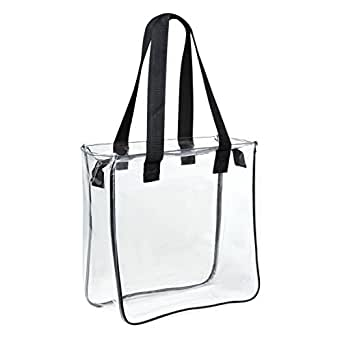 Amazon Com Clear 12 X 12 X 6 Nfl Stadium Approved Tote