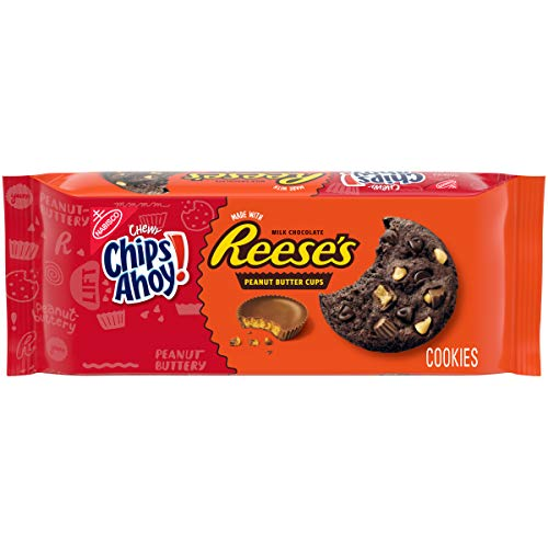 Chips Ahoy! Chewy Reese's Peanut Butter Cup Chocolate Cookies, 14.25 Ounce