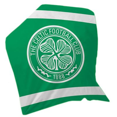Celtic FC. Fleece Blanket (Celtic Fc Bedding)