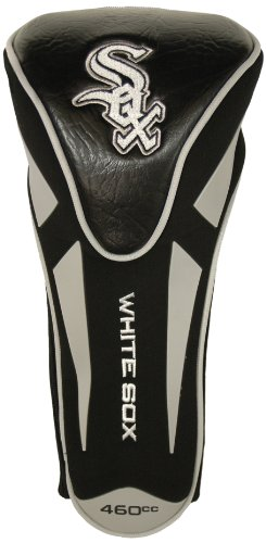 Team Golf MLB Chicago White Sox Golf Club Single Apex Driver Headcover, Fits All Oversized Clubs, Truly Sleek Design