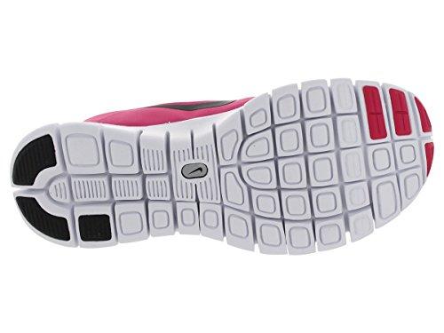 Nike Kids Free 5.0 (grande) Vivido Rosa / Nero / Bianco