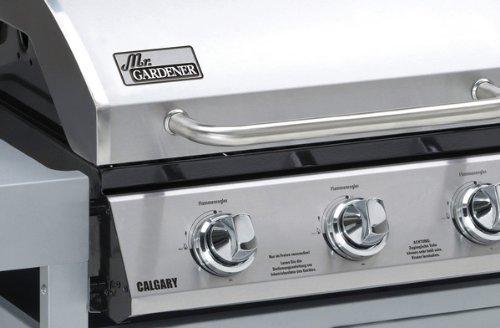 Landmann Gasgrill Flammenblech : Gasgrill calgary brenner amazon küche haushalt
