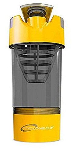 Cyclone Cup Shaker Bottle 20oz - Yellow Jacket Yellow