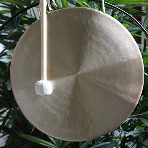 12'' wind gong with free mallet Chinese traditional ()