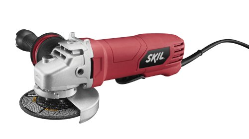 SKIL 9296-01 7.5-Amp 4-1 2-Inch Paddle Switch Angle Grinder