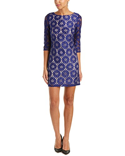 Jessica Howard Petite Lace Sheath Dress (6) (Jessica Howard Special Occasion Dresses)
