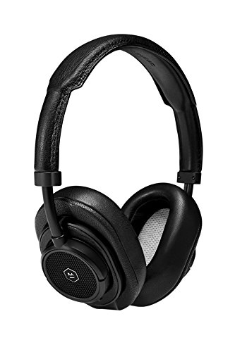 Master & Dynamic MW50+ Wireless Bluetooth Headphones – Premium Over-The-Ear Headphones – Noise Isolating – Studio & Recording Quality Headphones