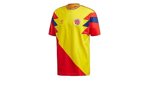 adidas Camiseta Colombia Mashup Amarillo/Rojo/Azul Talla: L (Large ...