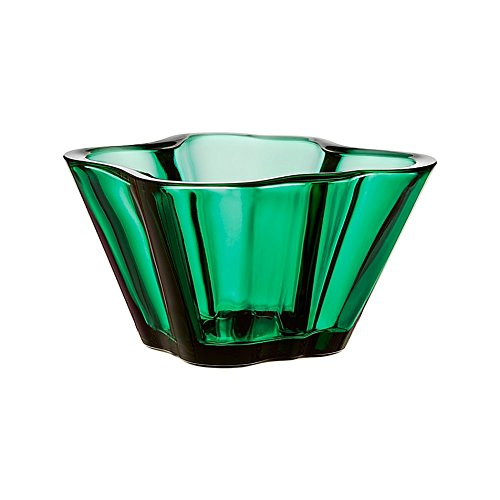 Iittala Alvar Aalto Collection Aalto Glass Bowl 75 mm, Emerald