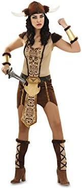 Disfraz de Vikinga sexy para mujer talla M-L: Amazon.es: Juguetes ...
