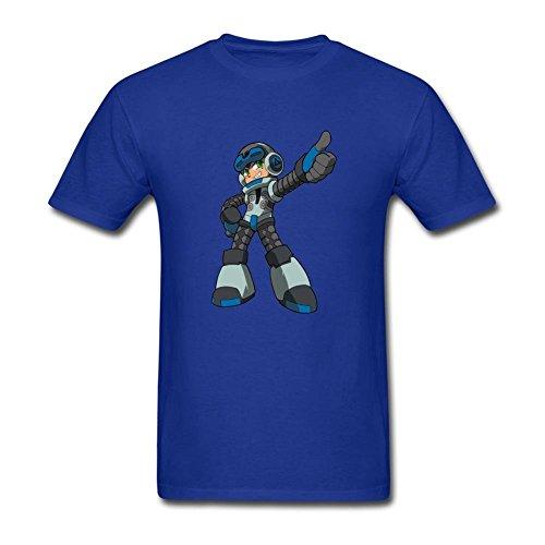ZHENGXING Men's Mighty No. 9 Game T-Shirt XXXL ColorName Short ()