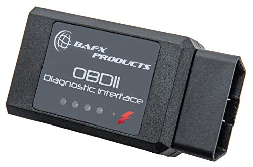 BAFX Products - Wireless Bluetooth OBD2 / OBDII Diagnostic Car Scanner & Reader Tool for Android Devices - Read / Clear Your Check Engine Light & So Much More!