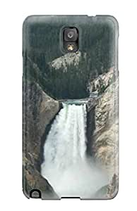 ZippyDoritEduard Perfect Tpu Case For Galaxy Note 3/ Anti-scratch Protector Case (waterfalls )