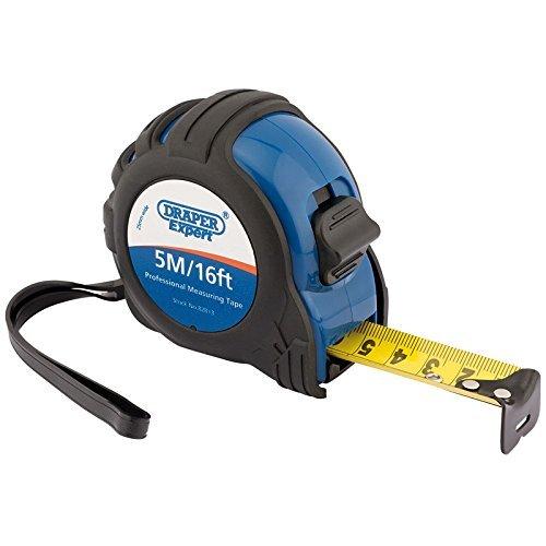Draper Measuring Tape (Draper 82813 5 m/16 ft Expert Professional Measuring Tape - Black/Blue by Draper)
