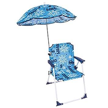 Bakaji silla director para niños plegable playa con ...