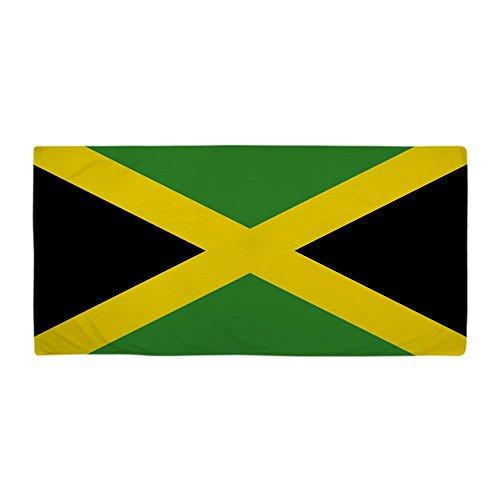 CafePress Jamaican Flag Large Beach Towel, Soft 30