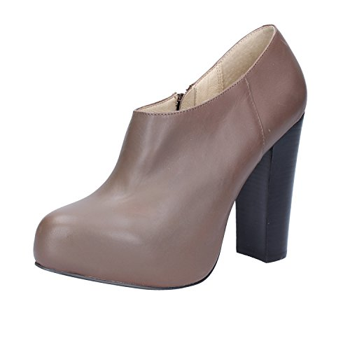 CAFE' Ankle Boots NOIR Womens Leather Brown Pry5RPFq6c