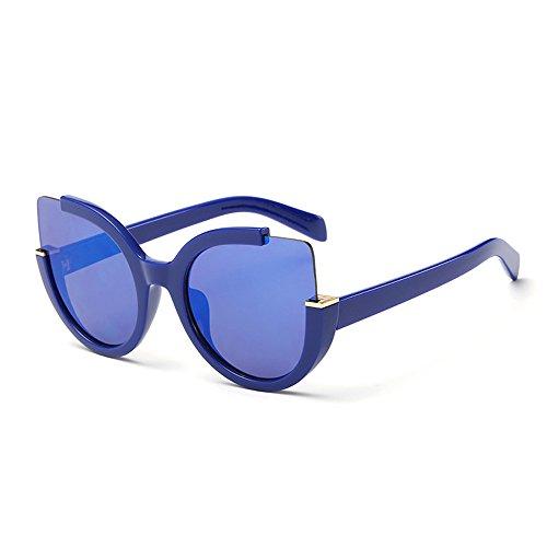 A Viaje Mujer H Coloridas Gafas Gafas De JUNHONGZHANG Gafas Metal De De De De Sol Ojo Gafas Gato Gafas De De Sol De Sol Sol Decorativas qSwfHwI