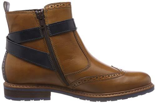 21 Ankle Comb Women's 25004 Tamaris Brown 441 nut Boots HwEpnA
