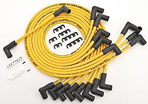 JEGS Performance Products 40223 8.5mm Yellow Ultra Pow'r Wires