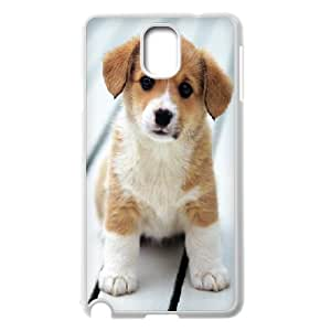 Yearinspace Cute Puppy Samsung Galaxy Note 3 Case Cute Puppy for Women Protective, Samsung Galaxy Note 3 Case for Women for Women Protective [White]