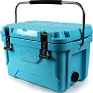 Arctic Zone Titan Deep Freeze Premium Ice Chest Roto Cooler with Microban Protection - Sizes: 55Q and 20Q, Col