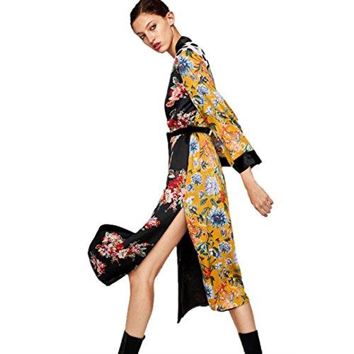 Manteau Long Manteau Kimono Kimono Boh Long Boh z1xwraqAz