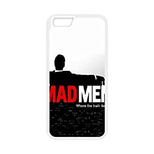 iPhone 6 4.7 Inch Cell Phone Case White Mad Man Uwtod