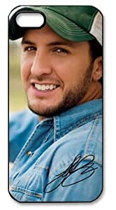 Luke Bryan Signed HD image case cover for iphone 5 black A Nice Present by mcsharks