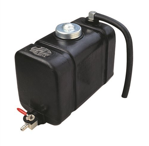 Quart 2 Tank (JAZ Products 230-050-01 2 Quart Black Junior Dragster Fuel Cell With Foam;)