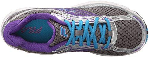 Fila Xtenuate las zapatillas de running Dark Silver/Metallic Silver/Atomic Blue
