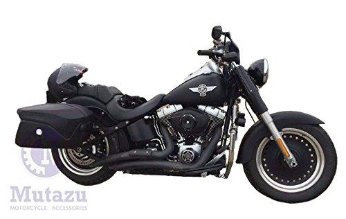 Mutazu Detachable Universal Motorcycle Hard Saddlebags