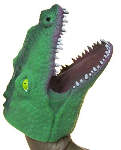 Alligator Puppet - Fun Stuff Soft Rubber Realistic 6