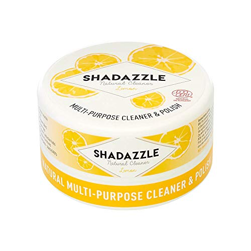 Shadazzle Natural All Purpose Cleaner and Polish – Eco friendly Multi-purpose Cleaning Product – Cleans & Polishes any washable surface (Lemon)