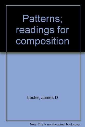 Patterns; readings for composition