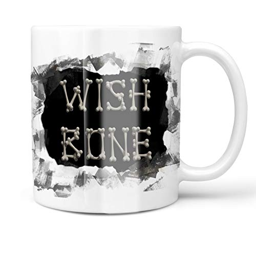 Neonblond 11oz Coffee Mug Wish Bone Pirate Halloween Bones with your Custom Name]()