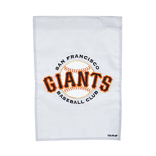 (Ashley Gifts Customizable Embroidered Garden Size MLB Flag, San Francisco Giants)
