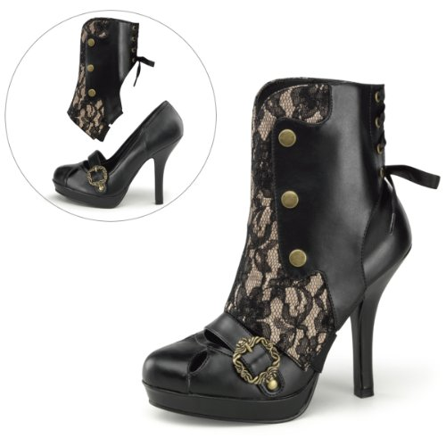 Steamy Steampunk Adult Boots Size 8 GUSHiXUy9S