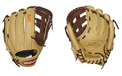 Wilson 2016 A2K David Wright Game Model Baseball Glove, Blonde/Walnut/Orange by Wilson
